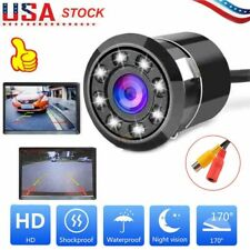 170 °Car Rear View Reverse Backup Camera Parking Waterproof Night Vision HD US