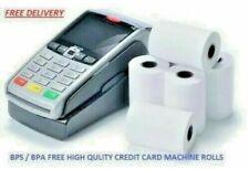 BPA FREE ,57X40 THERMAL ROLLS BEST QUALITY PDQ  CREDIT CARD MACHINE ROLLS