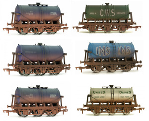 DAPOL 4F-031-0xx 6 wheel milk tankers, Variants / Choices available, OO Gauge