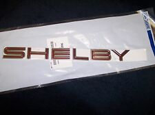 2005 2006 2007 2008 2009 FORD MUSTANG SHELBY GT500 GT 500 RED TRUNK LETTERS