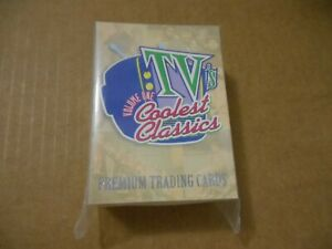 TV's Coolest Classics Premium Trading Cards 90 Card Set by Inkworks 1998