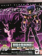 Bandai Saint Seiya Myth Cloth EX CANCER DEATHMASK JAP surplis neuf