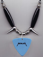 Metallica Scary Guy Blue Bass Guitar Pick Necklace