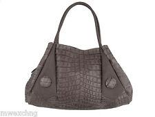 Napoleoni Italian Fashion Croco Purse Handbag Bag Leather