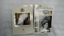 DIAMOND JUBILEE 2012 OFFICIAL BRITISH SOUVENIR PROGRAMME LOT QUEEN ELIZABETH II