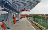 PHOTO  CUSTOM HOUSE FOR EXCEL RAILWAY STATION DLR 1994
