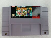 Vintage Super Nintendo SNES - Super Mario All-Stars Game Cartridge NES