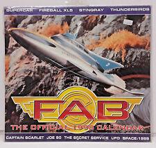 "1998 Fab Fanderson - Gerry Anderson - British - Calendar - 12"" x 10"" SEALED!"