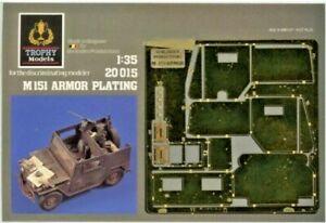 Trophy Models M151 Armor Plating Set Verlinden Productions N. 20015 scala 1:35