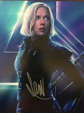 Avengers Scarlett Johansson Black Widow autographed 8x10 photograph RP