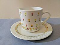 Corning Centura April (tulips) cup & saucer set