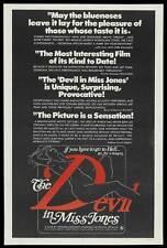 DEVIL IN MISS JONES Movie POSTER 27x40