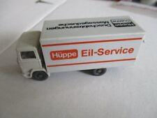 WIKING MB Koffer LKW Hüppe Eil-Service Werbemodell LKW 1/87