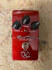 Keeley red dirt drive overdrive pedal effects