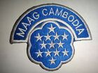 Vietnam War Patch US Military Assistance Advisory Group MAAG CAMBODIA