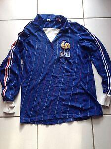 Adidas Maillot FFF Equipe de France 1982