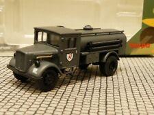 Ht292 Herpa 744645 Opel Blitz semi cadena /& flakaufbau Wehrmacht gris//producto nuevo