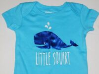Boy 0 3 6 9 Months Infant One Piece Outfit Whale Little Squirt