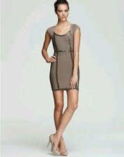 GUESS CAP-SLEEVE SPARK BANDAGE DRESS