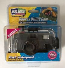 NEW Sports Utility Cam,Flash. Waterproof,Reusable, Snap Sights Multi-use Camera