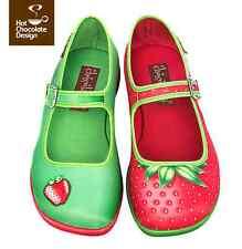 Hot Chocolate Design. Chocolaticas Strawberry. US 10. Women shoes
