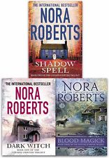 Nora Roberts Collection Dark Witch Shadow Spell Blood Magick 3 Books Set NEW