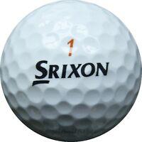 100 Srixon Trispeed Mix Golfbälle im Netzbeutel AA/AAAA Lakeballs Tri Speed