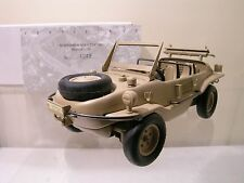 HENDRIX VW VOLKSWAGEN TYPE 166 SCHWIMMWAGEN 1940 SAHARA CERT.4049 BOXED 1:24