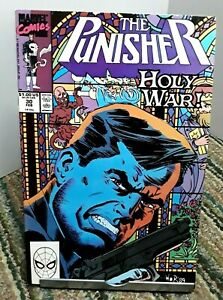 Marvel The Punisher Holy War Comic Issue 30 February 1990