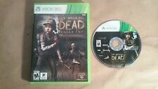The Walking Dead Season Two 2 (Xbox 360, 2014)LS Works Perfect Ships Fast