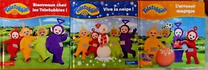 LOT 3 livres - Teletubbies (Hachette Jeunesse)