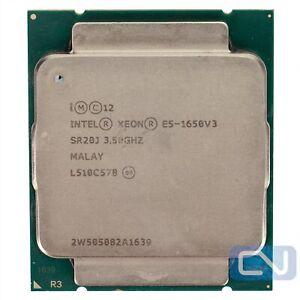 Intel Xeon E5-1650 v3 3.5 GHz 6 Core 15MB 0GT/s SR20J LGA2011-3 B Grade CPU