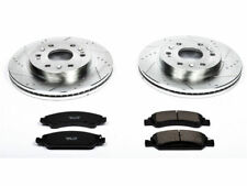 For 2016 Chevrolet Suburban Brake Pad and Rotor Kit Front Power Stop 97374CC