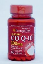 CoQ10 100MG 60s HEART HEALTH AND MANY OTHER BENEFITS