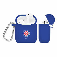 Chicago Cubs Silicone Cover Compatible With Apple AirPod Case