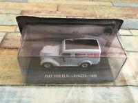 Voiture Miniature Camion Fourgon Publicitaire Fiat 1100 ELR Lavazza 1950 au 1/43