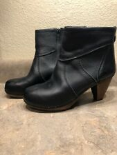 Sanita Women's Black Clog Boots Size 39