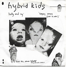 HYBRID KIDS - HOLLY AND IVY / HAPPY XMAS (WAR IS OVER) - ORIGINAL NEW WAVE 1980