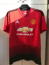 Manchester United jersey M 2018 2019 home shirt Cg0040 soccer football Adidas