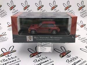 "Die Cast "" Renault 5 Turbo 1981 "" Scale 1/43 Atlas Edition"