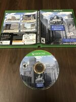 Project Highrise Architect's Edition Microsoft Xbox One Video Game With Case