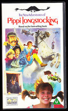 ADVENTURES OF PIPPI LONGSTOCKING - PAL VHS (UK) VIDEO - RARE