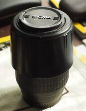 Sigma 70-300mm f4-5.6 DL macro súper