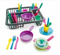 Pretend Play Kitchen Dish Set 27PSC Kids Toys Accessories For Boys & Girls