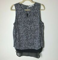 Violet & Claire Women's Sleeveless Top Size Large Casual Work Career Business