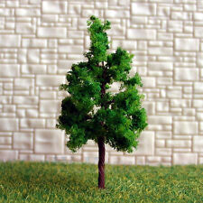 100 pcs Green Model Trees #G3813 for N Z scale layout