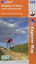 Brighton and Hove (OS Explorer Map), Ordnance Survey, Good, Paperback
