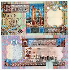 Libia Libia Banconota 1/4 Dinar ND 2002 P62 SERIE 5 NUOVA UNC