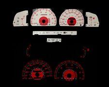 96-98 Toyota 4Runner SR5 Red Indigo Glow White Gauges  (I-432)
