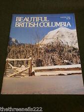 BEAUTIFUL BRITISH COLUMBIA - WINTER 1983 - BARKERVILLE - STEWART